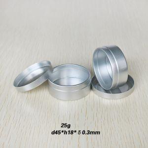 25g Aluminum Cream Jar with Slip Lid pictures & photos
