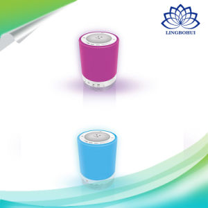 Automatically Change Color Wireless Bluetooth Stereo Speaker with LED Light pictures & photos