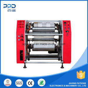 Factory Price Semi Automatic Stretch Film Slitting and Rewinding Machine pictures & photos