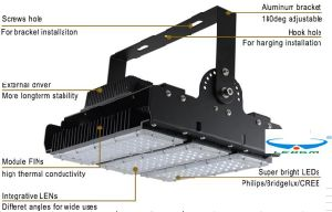 2017 New High Lumen IP65 5years Warranty Adjustable Module High Power 90W 120W 150W 200W 250W 300W 350W LED Tunnel Light pictures & photos