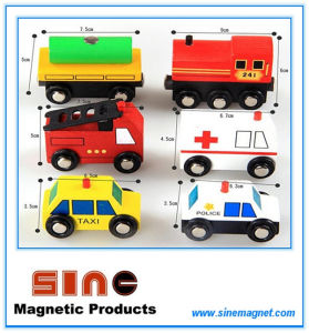 Wooden Magnetic City Traffic Building Block for Educational Toy pictures & photos