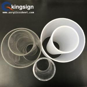 Round Shape Milky White Acrylic Tube pictures & photos