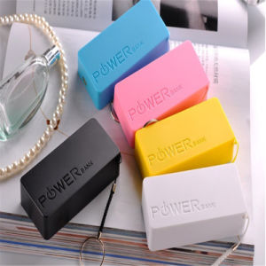 Candy Color Portable Power Bank 5200mAh Mobile Phone Accessories pictures & photos