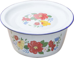 Enamel Washing Bowl Finger Bowl for Daily Use pictures & photos