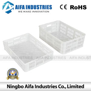 Plastic Turnover Basket Injection Mold Fo Fruit and Vegetable