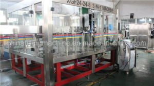 Automatic 3-in-1 Water Filling Capping Machinery with PLC Control pictures & photos