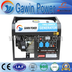 Hot Sale 2.5kw AC Single-Phase Gasoline Generator Set pictures & photos