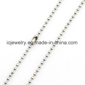 Cheap Stainless Steel Ball Chain Necklace pictures & photos