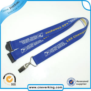 Manufacturer Custom Woven Embroidered Lanyards No Minimum Order pictures & photos