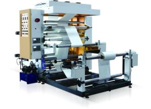 Two Color Flexography Printing Machine 2 Color (YT-2600/2800/21000)