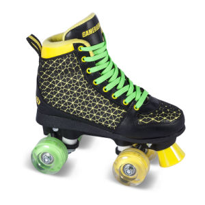 Soft Boot Quad Roller Skate for Adults (QS-41-1) pictures & photos