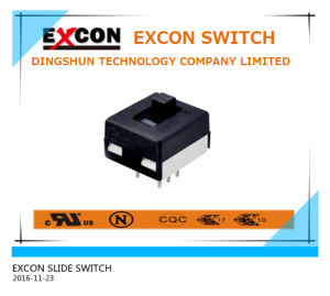 3 Positions Slide Switch and Micro Slide on off Switch with Mini Size Switch pictures & photos