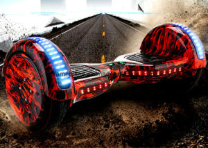 10inch Electric Skateboard with Flashing Light pictures & photos