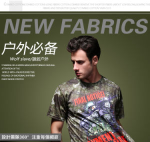 Tactical Sports Military Python Camo T-Shirt pictures & photos