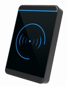 Touch Screen Em Lf 125kHz or Hf 13.56MHz RFID Wiegand Reader Access Controller pictures & photos