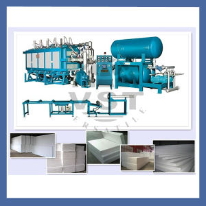 Ce Certificated Vacuum Supported Block Molding Machine pictures & photos