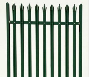 Euro Style Free Standing Metal Palisade Fence / Wrought Iron Fence Panel pictures & photos