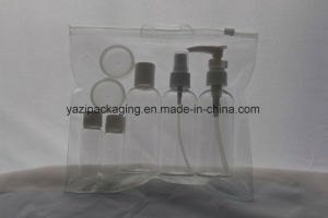 7PCS Plastic Travel Bottles Set with PVC Bag for Travelling pictures & photos