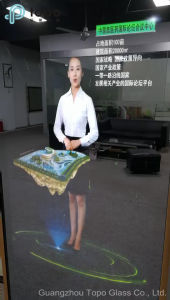 No Ghosting Frameless Magic Mirror Glass for LED Advertising Display (S-F7) pictures & photos