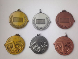 Antique Colors Plated Medal, Competition Medal (GZHY-BADGE-004) pictures & photos