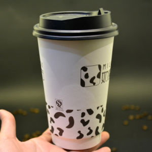 Custom Logo Hot Drinking Disposable Coffee Paper Cup pictures & photos