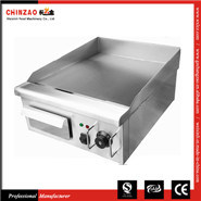 Countertop Electric Griddle Stainless Steel Commercial Flat Top pictures & photos