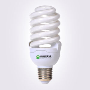 Tri-Phosphor Glass Tube 20W Full Spiral Energy Saving Bulb pictures & photos