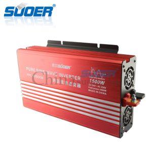 Suoer 1500W 24V 230V Intelligent Pure Sine Wave Power Inverter (FPC-H1500B) pictures & photos