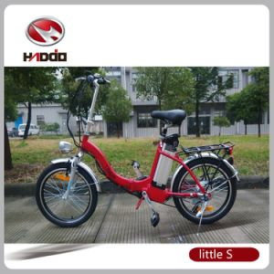 250W Electric Folding Mini Ebike for Children pictures & photos