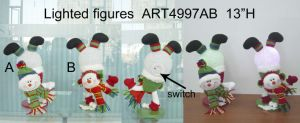 Lighted up Christmas Snowman Christmas Lights-2asst pictures & photos