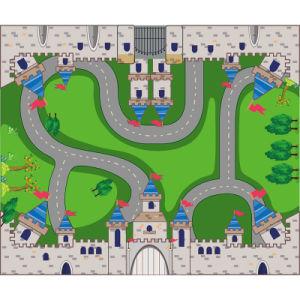 Printed Children Joyful Wholesale Floor Mat pictures & photos