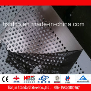 Perforated Stainless Steel Sheet 4mm Aperture 1.35mm Thickness TP304 pictures & photos