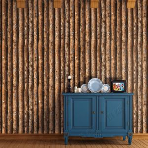 High Quality Wood Design Cheap Price Interior Wall Decorative 3D Wall Paper pictures & photos