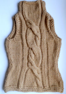 Hand Knit Women Winter Sweater Vest Handmade Knitted Wool Accessories pictures & photos