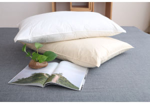Luxury White Goose Down Pillow by Hangzhou Factory
