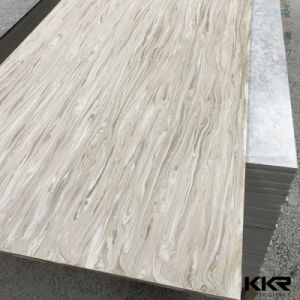 Wholesale Artificial Stone Resin Solid Surface Texture Veining Marble pictures & photos