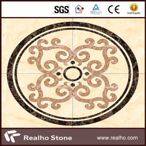 Direct Supplier Waterjet Marble Medallion for Flooring pictures & photos