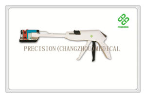 Disposable Curved Cutter Stapler for Colorectal Resection