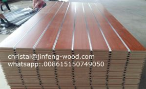 18*1220*2440mm Slot MDF pictures & photos