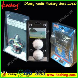 Koohing Clear Plastic Clamshell, Double Blister Clamshell Packaging pictures & photos