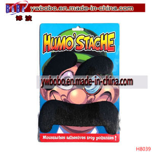 Party Moustache Novelty Moustache Halloween Decoration (H8039) pictures & photos