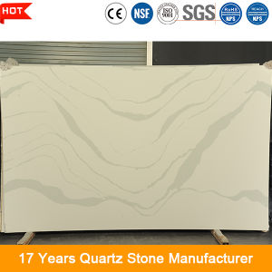 Customized Big Slab Form 20mm Artificial Engineered Quartz Stone for Kitchen Countertop pictures & photos