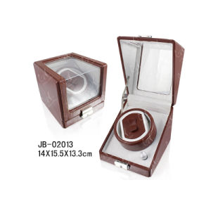 Storage Packaging Showbox Wooden Watch Gift Box Watch Winder Case pictures & photos