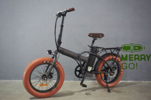 2017 Latest and Upgraded 48V 500W Electric Fat Tyre Folding Bike pictures & photos