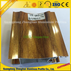 Zhonglian Aluminium Profile Manufacturer Supplying Wooden Grain Aluminium Extrusion pictures & photos