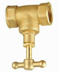 Corrosion Resistance Female Thread Brass Gat Valve pictures & photos