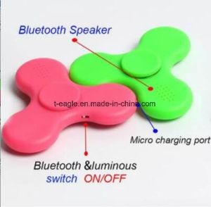 LED Bluetooth Speaker Music Hand Spinner EDC Fidget Spinner pictures & photos