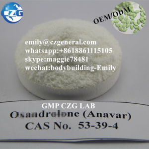 Raw Anavar Powder CAS 53-39-4 Oxan-Drol-One / Anavar pictures & photos