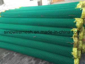 PVC Coated Security Wire Mesh / PVC Coated Chain Link Fence pictures & photos