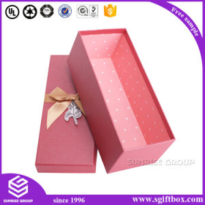 Simple Paper Gift Box with Hot Stamping pictures & photos